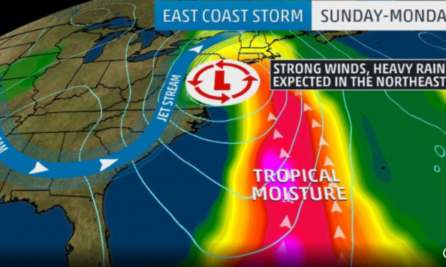 Powerful Coastal Storm Takes Aim At East Coast