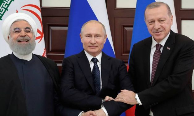 Putin, Erdogan, Rouhani Meet in Sochi