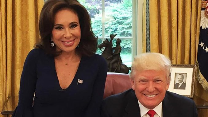 """Trump demands Fox News """"bring back"""" Jeanine Pirro amid backlash over anti-Muslim comment"""