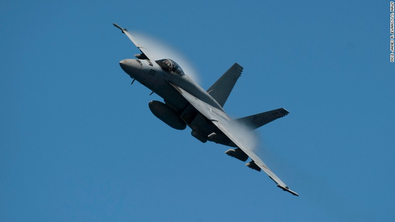 US Navy jet crashes in California