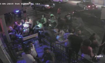 EXCLUSIVE video surveillance of Dayton Ohio Shooter