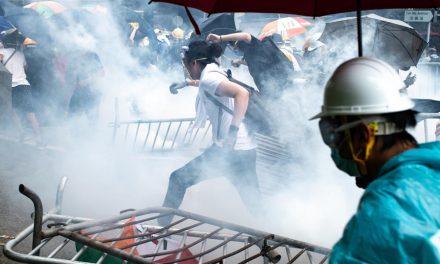 China invading Hong Kong now! Warning Graphic video content **