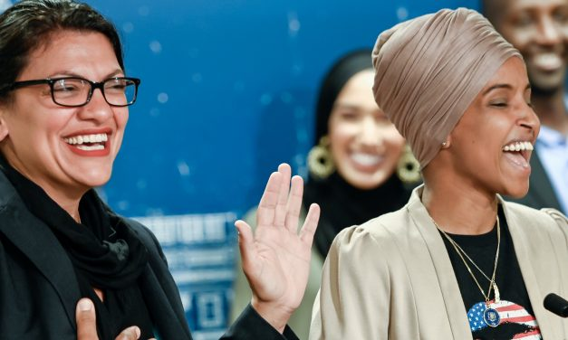 Giddy and Delusional Muslim congress woman Rep. Tlaib: 'No Joke': Democrats Want To Arrest Trump Officials, 'Take Care Of Them'