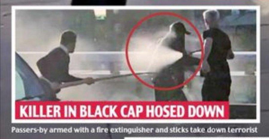 Man Wielding 5′ Narwhal Tusk Helped Subdue London Bridge Terrorist