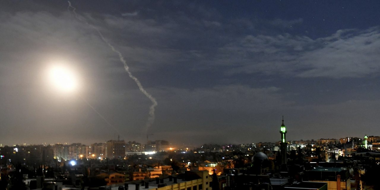 Syria says air defenses fire on 'hostile missiles' from Israel