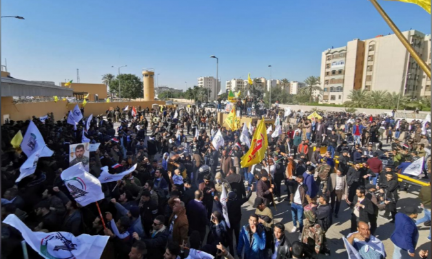 Iraq Protesters Storm U.S. Embassy in Baghdad
