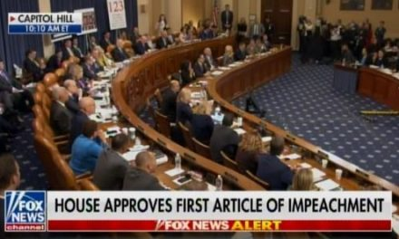 Democrat Lawmakers Vote to Impeach Trump in House Judiciary Committee in Party Line Political Vote