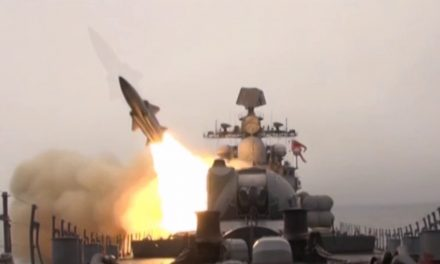 Russia sends another warship armed with cruise missiles to Syria