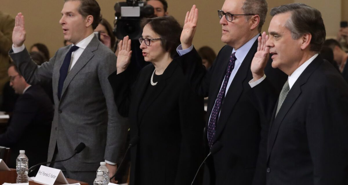 Rep. Gaetz Leaves Dem Witnesses SPEECHLESS at Impeachment Hearing