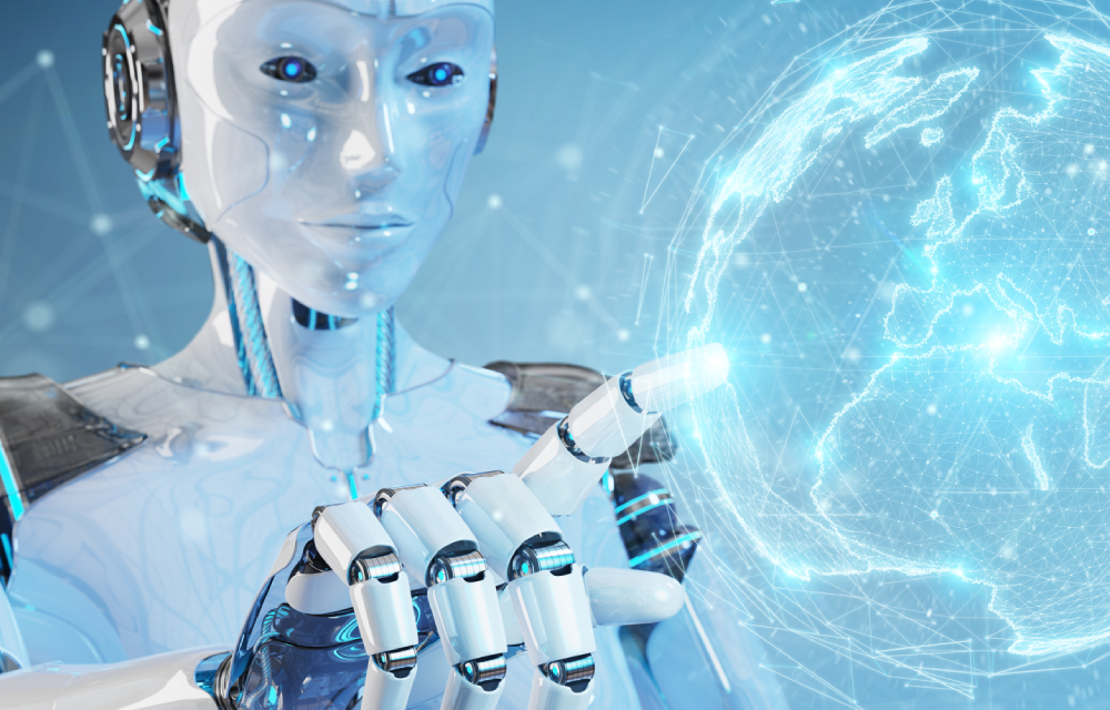 AI robots, quantum computing, the hive mind and the take over of humanity.