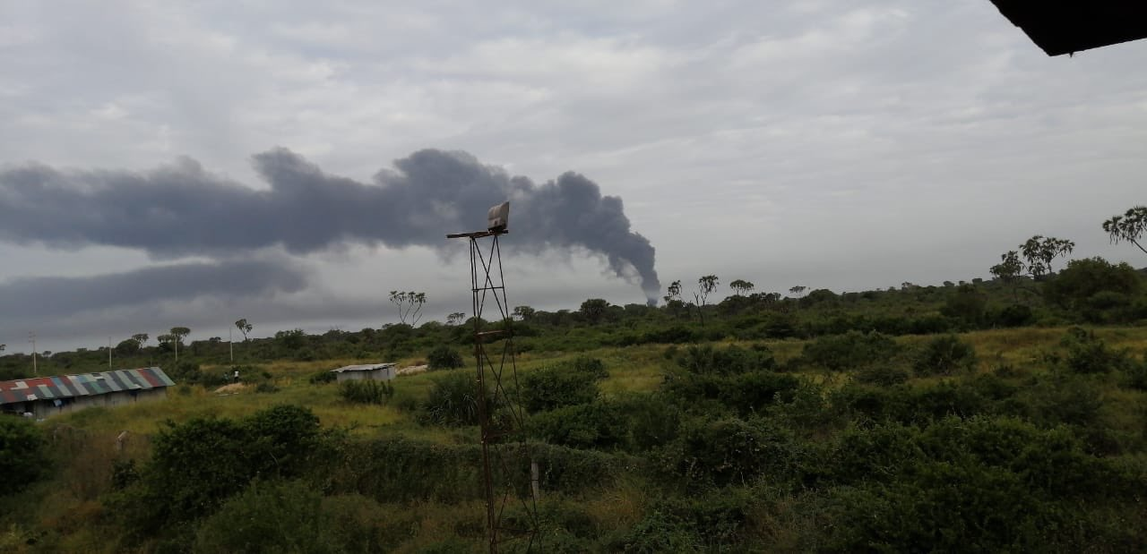 Al Qaeda affiliate al-Shabaab claims attack on US base in Kenya