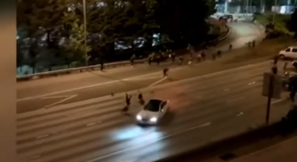 GRAPHIC VIDEO – Protesters from CHAZ / CHOP get run over. Multiple people in SERIOUS and or DEAD!