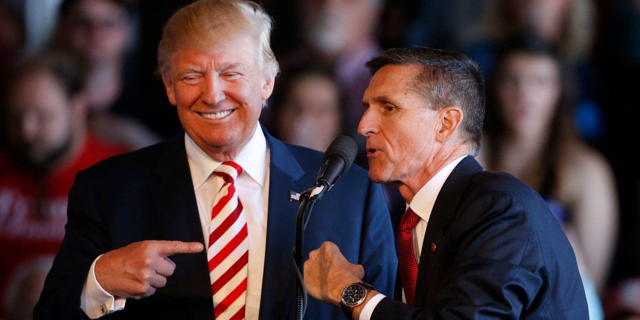 """HERE WE GO! Gen. Mike Flynn: """"Trump could order military to re-run the election in swing states"""" !!!"""