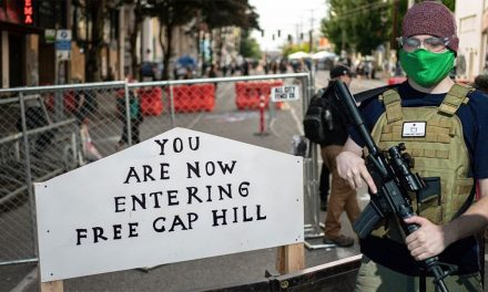 [VIDEO] Portland Oregon setting up CHOP / Chaz zone AGAIN in anticipation of WAR with US government and Trump Supporters!