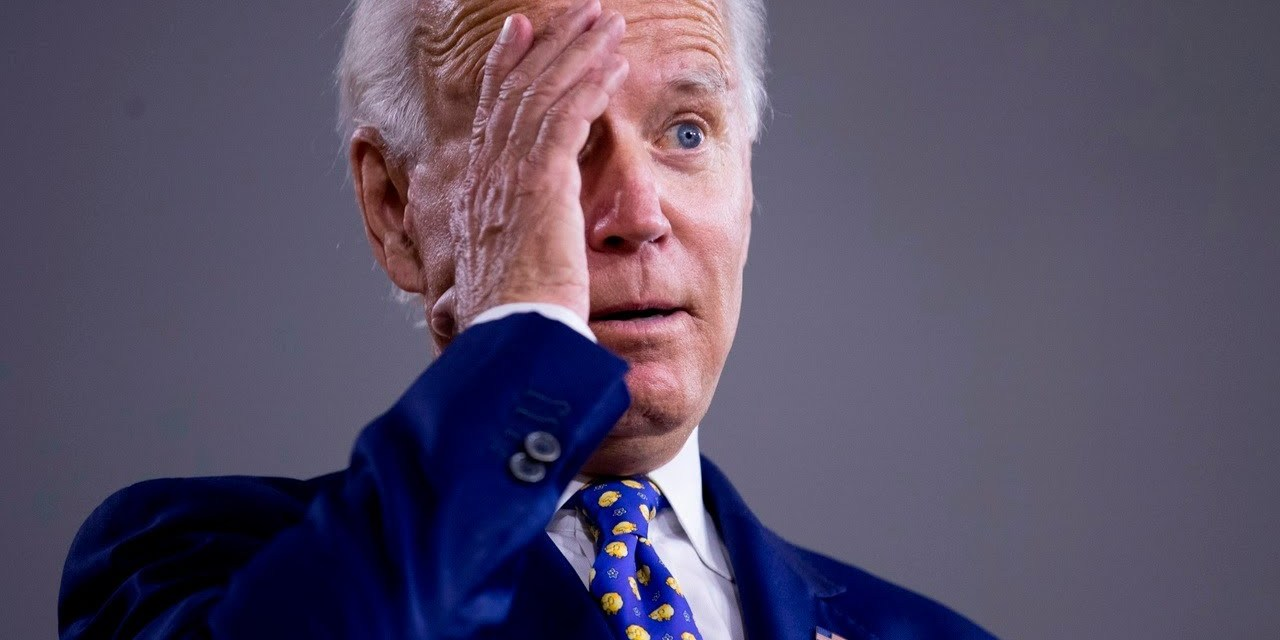 "BIDEN: ""…and who am I turning this over to?"" STAFFER: ""It's time for the press to leave."""