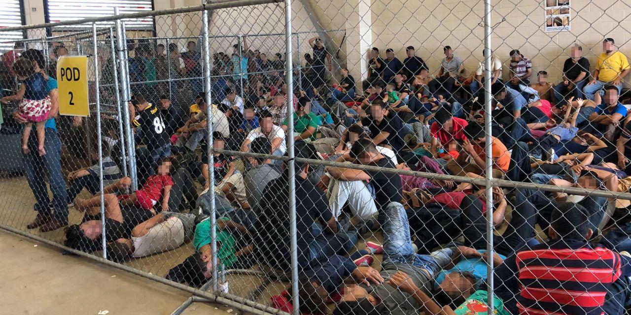 SHOCKING Video of Migrant Children In Cages At Biden's Border…