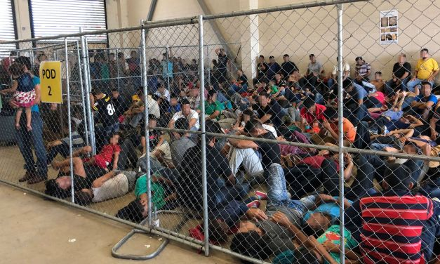 SHOCKING Video of Migrant Children In Cages At Biden's Border…