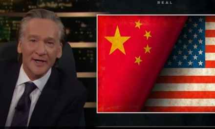 "Even Bill Maher knows that China is ""eating our lunch"" under Biden and has ""WON""!"