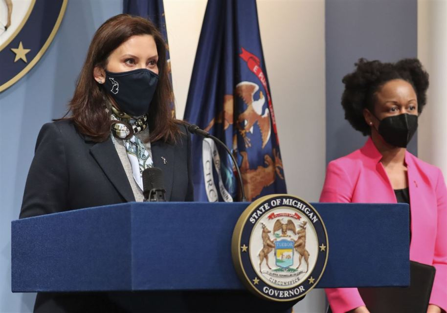 Gov. Whitmer declares the entire state of Michigan to be a VACCINE PRISON CAMP … obey or stay locked down forever