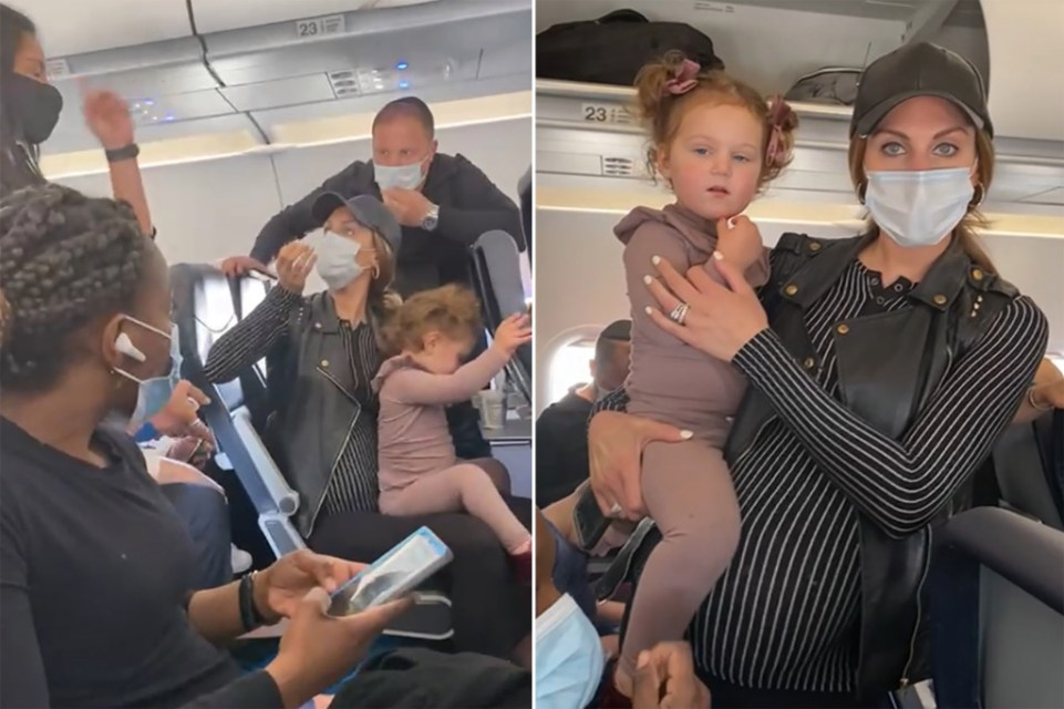 Airlines kicks JEWISH parents and baby off plane because the baby was EATING without a mask! Passengers horrified!