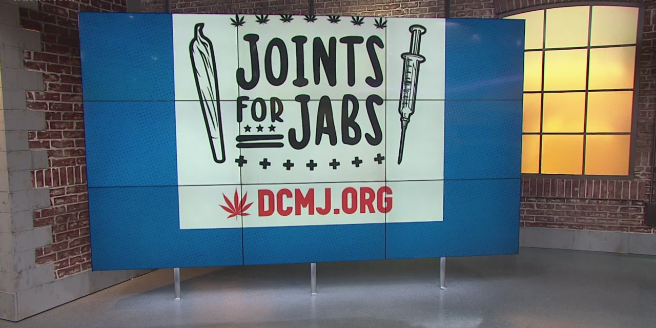 Joints for Jabs campaign: Enticing the public using money, drugs, food and ego to get vaccinated.