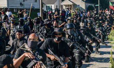 Armed black militants march through Tusla OK. calling for race war! 5-30-21