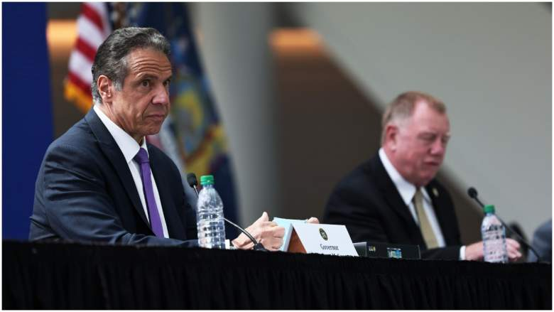 BREAKING!! FIRE in MANHATTEN SKYRISE!!  Governor Cuomo's New York City Office Building