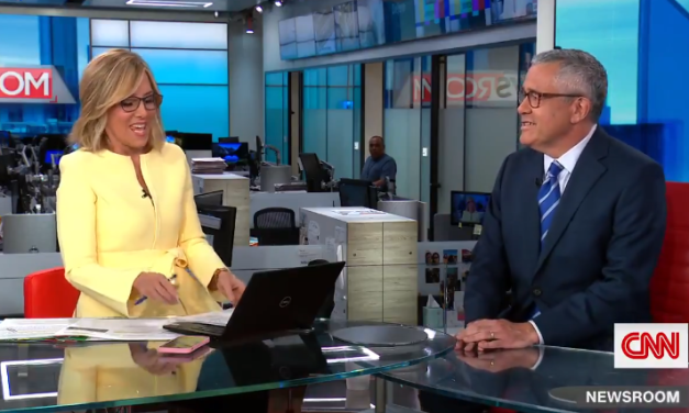 Cringy News Network (CNN) An even more cringy interview of Jeffrey Toobin apologizing for masturbation on camera than Kamala Harris denying she has NOT been to Mexico